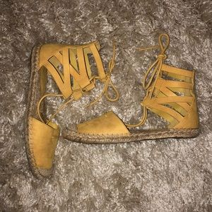 Forever 21 Lace Up Shoes